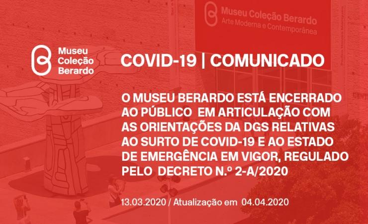 COVID19 - Museu Berardo encontra-se encerrado devido a estado de emergência em vigor no país