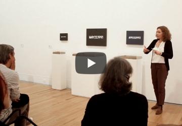 As Escolhas dos Críticos: On Kawara por Joana Cunha Leal | #MCB_Online